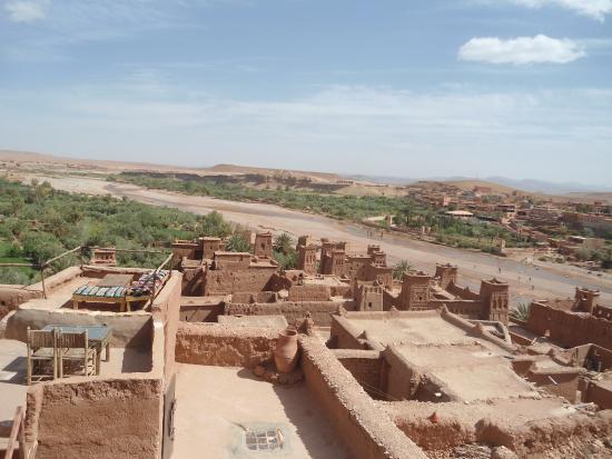 Merzouga, Marruecos: i tetti di Ait Benhaddou