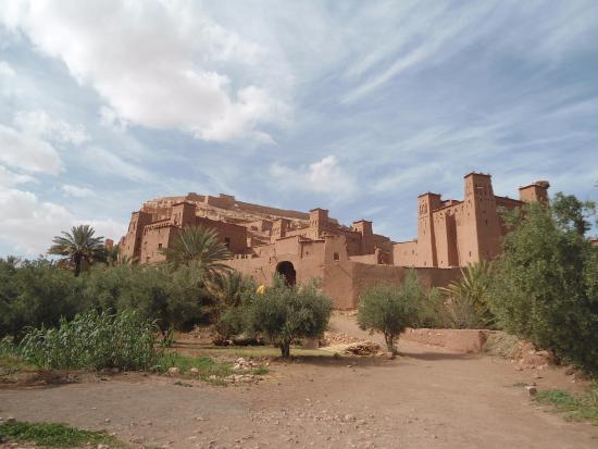 Merzouga, Marruecos: la casba di Ait Benhaddou