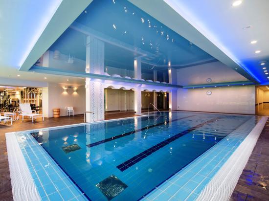 Indoor Swimming Pool Picture Of Sharon Hotel Herzliya Tripadvisor