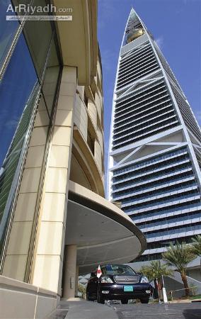 Al Faisaliah Hotel: مدخل الفندق