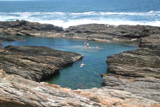 Storms River, África do Sul: Bathing pool