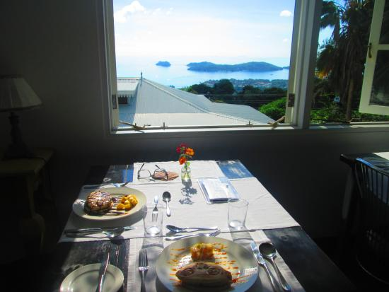 The Station Seychelles : View from Breakfast