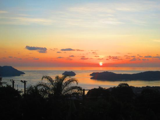 The Station Seychelles : Sunset view
