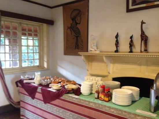 Lake Elementaita, Quênia: Breakfast buffet