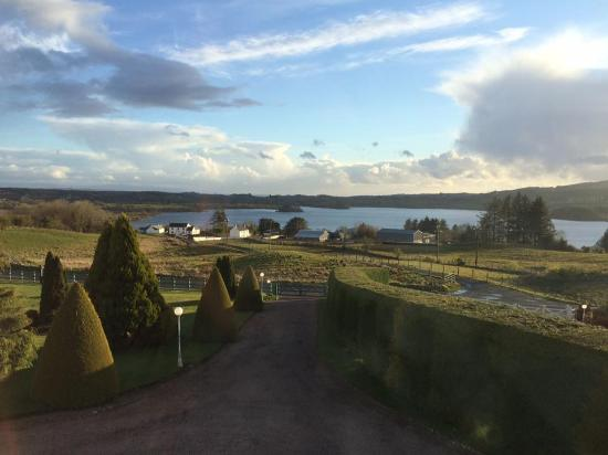 The Arches Country House: View of Lough Eske from B&B