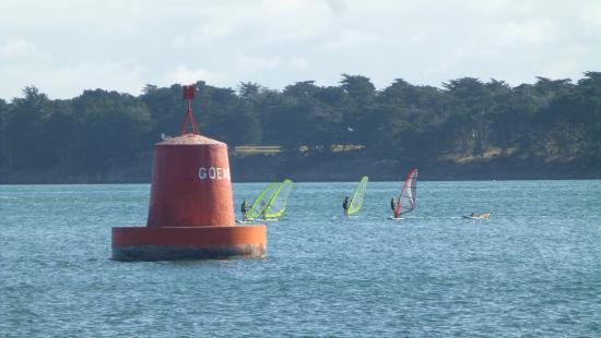 Club Nautique Terre Atlantique de Locmariaquer: Balise de Goemorent