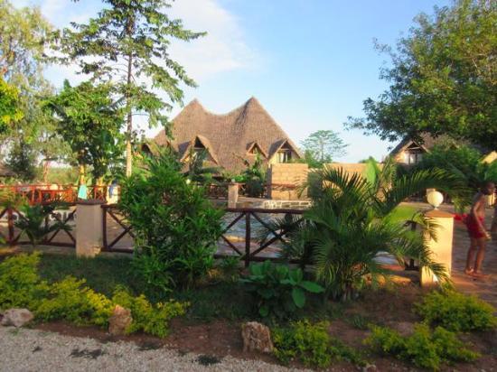 Kwale, Kenia: General view with swiming pool