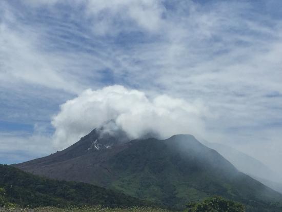 Soufriere Hills Volcano : Soufriere
