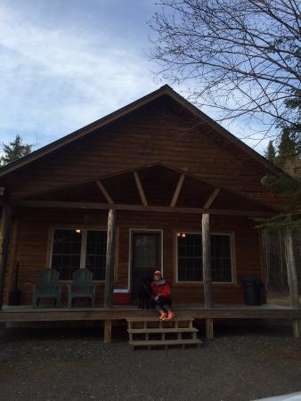 تول تيمبر لودج: The Aspen roadside cabin.