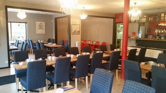 Marieholm, Sverige: Up to 50 for group bookings (45 in garden restaurant and 150 in the garden)