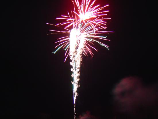 Washington, ME: Fireworks can be added to your stay