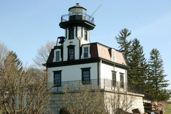 Shelburne, Вермонт: Lake Champlain Lighthouse