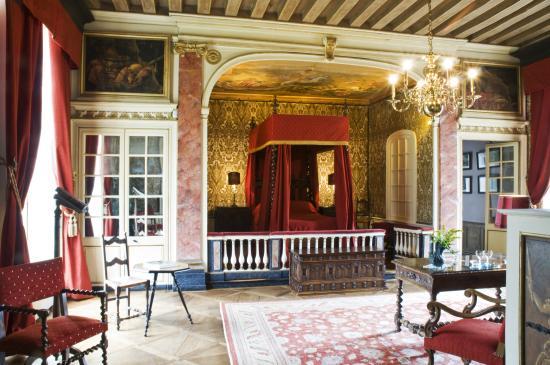 Chateau de bonnemare radepont for Chambre de parade