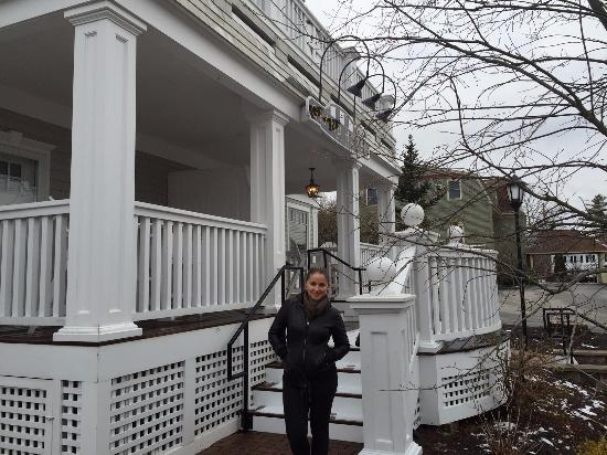 Kennebunk, Μέιν: Front of Hotel