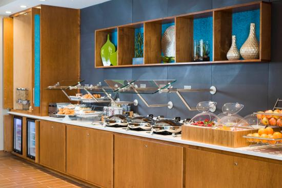 enjoy a complimentary breakfast buffet at springhill suites by rh tripadvisor ie