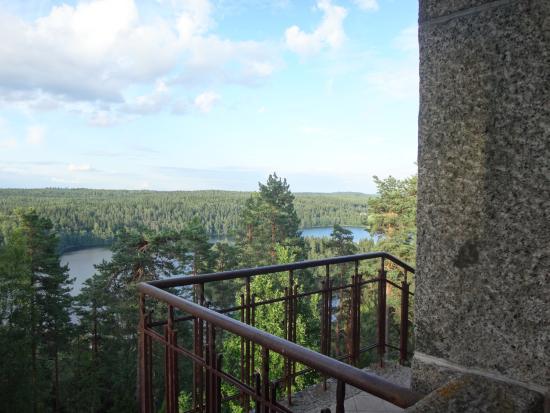 Haemeenlinna, Φινλανδία: Подъем на башню