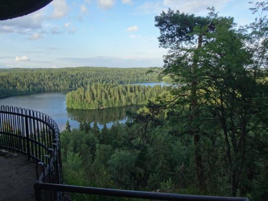 Haemeenlinna, Φινλανδία: Смотровая площадка нижнего яруса