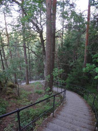 "Haemeenlinna, Φινλανδία: Спуск к ""Медведям"""