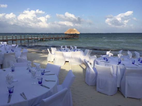 Azul Beach Resort Tui Sensatori Riviera Cancun Dinner Zocalo