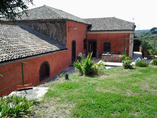 Santa Venerina, Italien: vista esterna del palmento