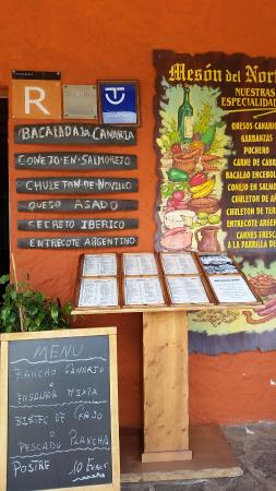Restaurante Meson Del Norte: 20160504_141352_large.jpg