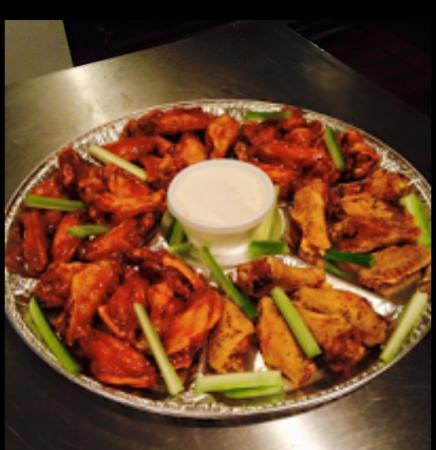Sylacauga, AL: Wing Platter