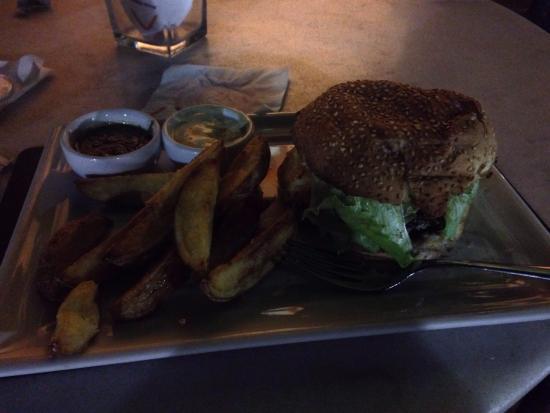 Morere, BA: Hamburguesa de la casa