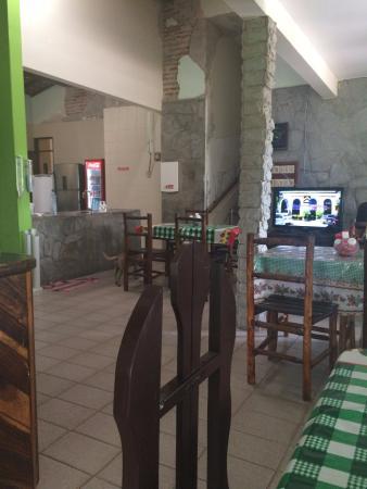 Morada Nova: Salão onde é servido o café da manhã