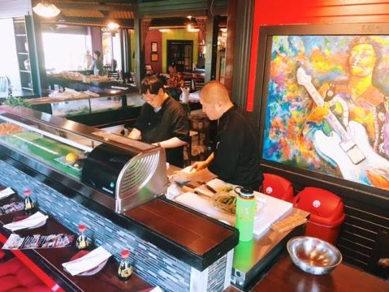 Poipu Rockn Roll Sushi Picture Of Poipu Rock N Roll Sushi Koloa
