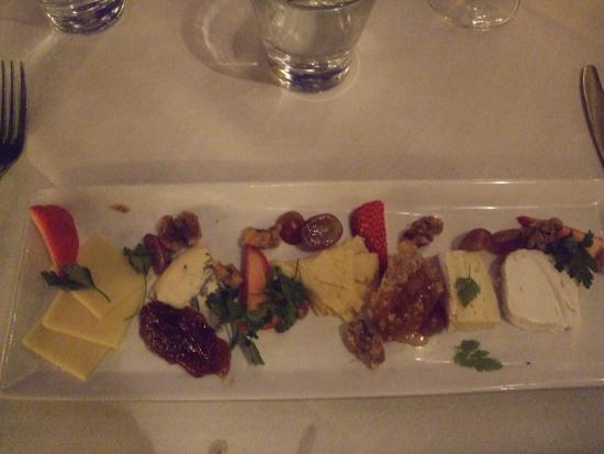 La Quinta, CA: Cheese platter