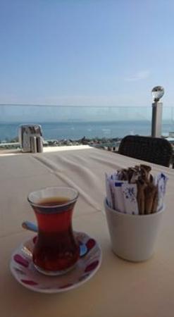 Oceans 7  Restaurant: Warm delicious Turkish tea
