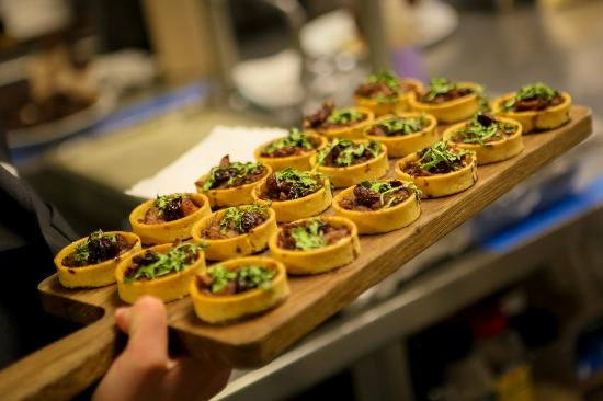 Hyatt Centric Chicago Magnificent Mile : Appetizers served during private events