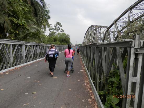 Sixaola, Kosta Rika: Мост новый