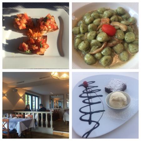 Wettingen, Sveits: Bruschette, Cicchi del Nonno und das Lokal