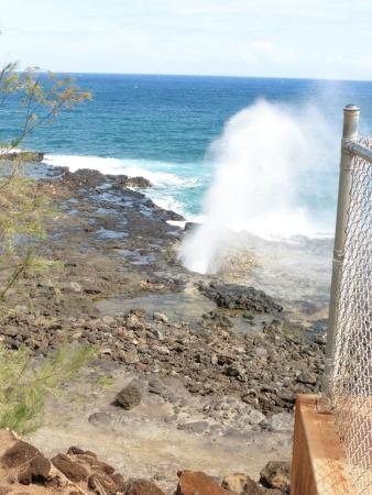 Spouting Horn - Kauai