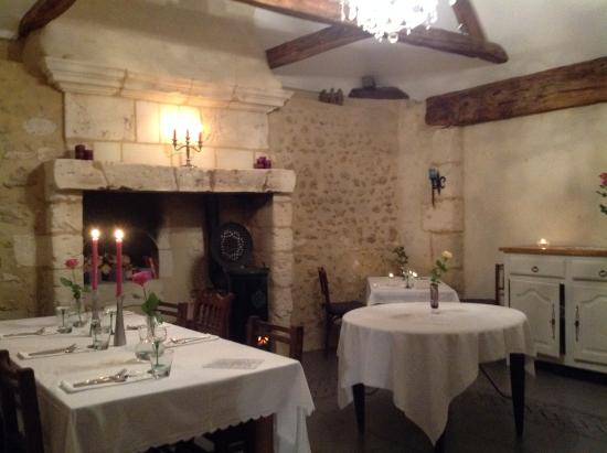 Saint-Pierre-du-Lorouer, France : New speciality dining room