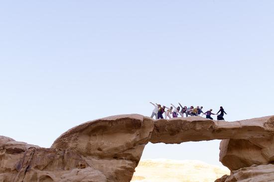 Bedouin Traditions Camp: Little bridge