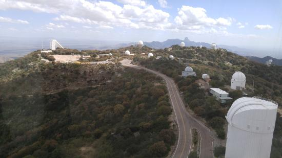Sells, AZ: A view from the top of the 4 Meter Mayall Telescope