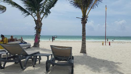 Playa Maroma, México: Praia Maravilhosa talvez a melhor  de Cacun