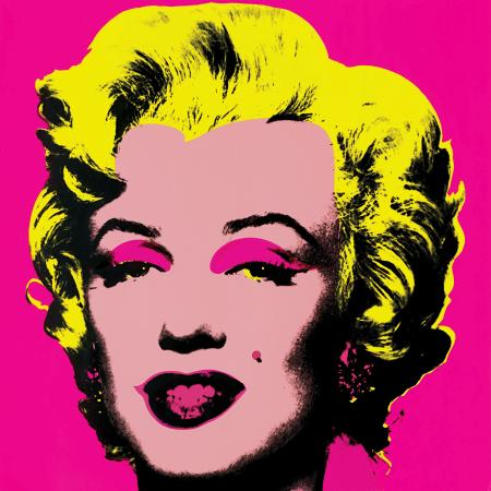 Charlottesville, Wirginia: Marilyn Monroe 11.31 after Andy Warhol by Sunday B. Morning