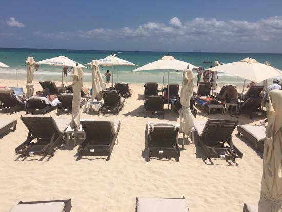 Kool Beach Club View Of Nice