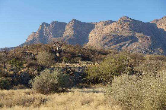 Usakos, Namibia: strepitose montagne