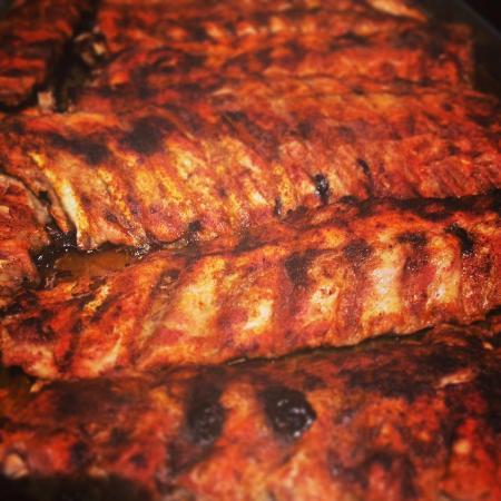 Bowen Island, Canada: Homemade BBQ Ribs