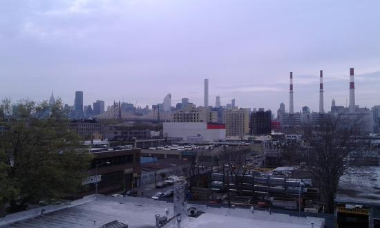 Ramada Jamaica/Queens: vista su manhattan