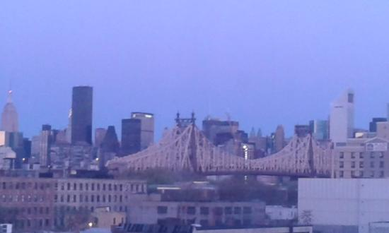 Ramada Jamaica/Queens : vista su manhattan