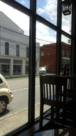 Chilhowie, VA: from table looking out