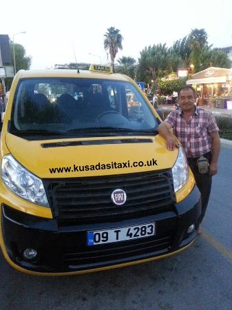 Turkish Aegean Coast, Turkey: Here in KUSADASI we provide taxi transportation service for 7/24