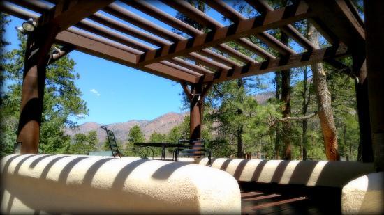 Cascade, CO: Moonlight Suite's Private Deck