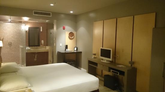 Hotel Aladdin: Chambre spacieuse et propre