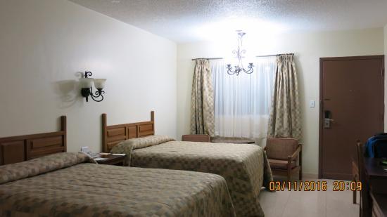 Nuevo Casas Grandes, Mexiko: View inside the room